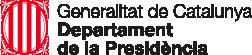 Logotip de la Generalitat de Catalunya - Departament de la Presidència